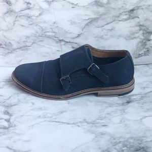 Madden M-Graves Navy Oxford Buckle Shoe